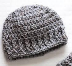 Crochet Newborn Hat Pattern Magnificent The Parker Newborn Hat AllFreeCrochet