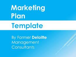Sample Marketing Plan Powerpoint Marketing Plan Template In Powerpoint