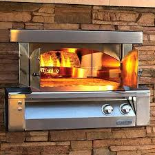 built in outdoor pizza ovens kitchen oven