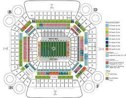 Miami Dolphins Seating Chart 2017 Miami Sun Life Football Stadium Seating Plan Miami Fl In