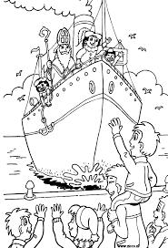 Stoomboot Kleurplaat