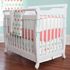 teal arrow mini crib bedding share save 1