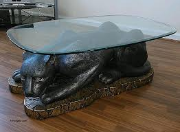 cats on glass coffee tables best of black cat panther glass top coffee table