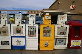 Used Newspaper Vending Machine Fascinating No More Moderate Politics Newspaper Reporters And Political Extremes