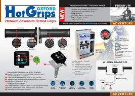 new hotgrips by oxford products issuu Hot Grips Wiring Diagram Hot Grips Wiring Diagram #83 hot grips wiring diagram resistor