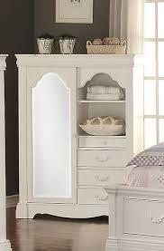 White Armoire With Drawers36