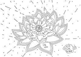 Kleurplaat Pagina Instant Download Spirituele Lotus Indiase Etsy