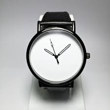 watch mini st watches black and white leather bracelet mens mens watch mini st watches black and white leather bracelet mens jewelry modern mini st gift simple watches for