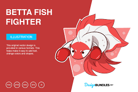 Another way to animate svg is by using sprites images, like how this creator did. Betta Fish Fighter Vector Illustration