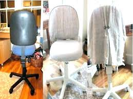 office chair slipcover pattern tutorial diy furniture s nyc ne