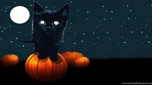 Halloween Wallpapers Black Cat Desktop ...