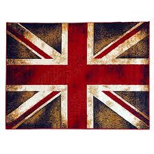 rare american flag area rug zahra handmade cherry navy flags and s