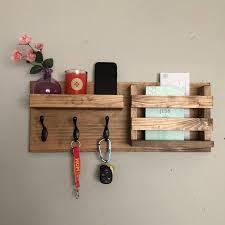 key hooks wall mounted coat rack catch
