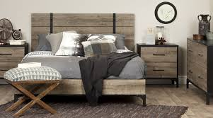 bedroom furniture solutions. Delighful Solutions South Shore Industrial Decor With Rustic Wood Bedroom Furniture On Bedroom Furniture Solutions M
