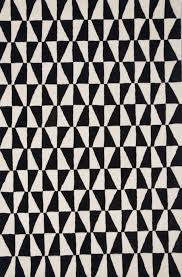 black and white geometric area rug