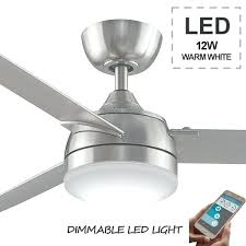 bluetooth ceiling fan ceiling fan by three sixty in brushed nickel led light and remote control