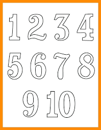 number templates 1 10 printable number templates cookout info