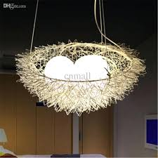 Unusual ceiling lighting Upcycle Unique Pendant Lights Unique Birds Nest Pendant Light Hanging Lighting Ceiling Lamp Chandelier Aluminum Pendant Lamp Unique Pendant Lights Nationonthetakecom Unique Pendant Lights Unusual Ceiling Lighting Ceiling Lights