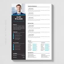 Modern Resume Downloads Elegant Minimalistic Modern Resume Template For Free Download On Pngtree
