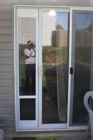patio door with dog door built in pet door for screen doggie sliding glass french with