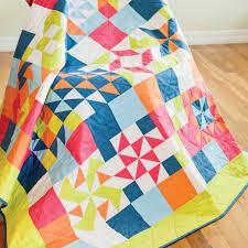 Free Quilt Block Patterns - GO! Value Die Sampler Quilt Pattern ... & Value Die Sampler Quilt (PQ10327) Adamdwight.com
