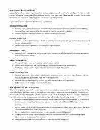 Sample Loan Proposal Template Bank Loan Proposal Template Proposals Restaurant Business Plan 21