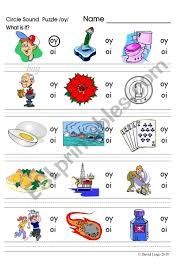 There are twenty worksheets you can. Circle Sound Puzzle 15 Phonics The Oy Sound Esl Worksheet By David Lisgo