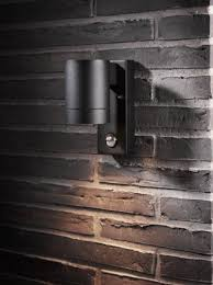 exterior down light with pir wall