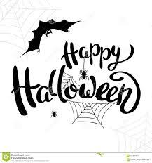 Halloween Template Happy Halloween Template For Banner Or Poster Vector Stock Vector