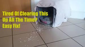 DIY Kitty Cat Litter Box Tray Tidy | No More Cat Litter Mess On The Floor | DIY  Litter Box Hacks - YouTube