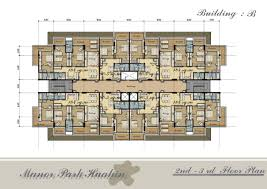 Amazing Apartment Building Plans L   House Design Ideashttp     manorparkhuahin com new  fp Floor Plan Bldg B    rd