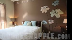 master bedroom decorating idea green apple painting
