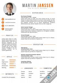 Curriculum Vitae Template Word Magnificent Curriculum Vitae Template Word Cv Template Berlin Orange Picture
