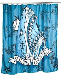 jaws shower curtain contemporary with sailors grave shark shower curtain with shark bathroom accessories shark shower jaws shower curtain