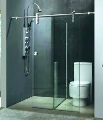 sliding glass shower door breathtaking glass shower barn door glass shower barn door amazing sliding glass