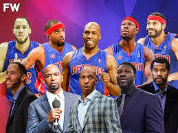 2004 NBA Champion Detroit Pistons ...