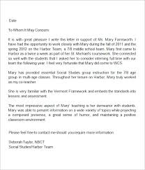teacher letter of recommendation 13 letters of recommendation for teacher sample templates