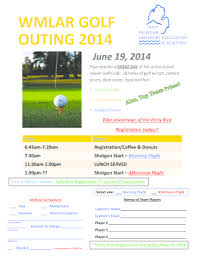 Fillable Online Microsoft Powerpoint Golf Outing Flyer Fax