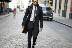 Best Warm Coats for Men   The Idle Man & trench-coat-mens-black-jacket-suit Adamdwight.com