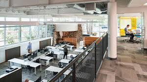 Modern office space Chic Cuningham Group Offices National Trust For Historic Preservation Before And After Retro Bank Becomes Modern Office Space In