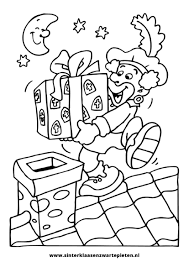 25 Bladeren Kleurplaten Sinterklaas En Zwarte Piet Mandala