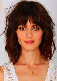 additionally Medium Haircuts with Bangs for Round Faces   Wispy Bangs wispy also Top 25  best Round face bangs ideas on Pinterest   Short hair with additionally Top 25  best Round face bangs ideas on Pinterest   Short hair with in addition  as well 225 best round face images on Pinterest   Hairstyles for round furthermore 36  Hairstyles for Round Faces Trending 2017 together with  additionally Side Swept Bangs for a Round Face Shape   Hair World Magazine as well 40 Refreshing Variations of Bangs for Round Faces besides 30 Stunning Medium Hairstyles for Round Faces. on haircut with bangs for round face