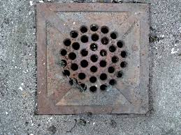 A Yard Drain Needs Maintenance And Care To Work Properly - Exterior drain pipe