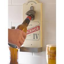 wall mounted beer bottle opener