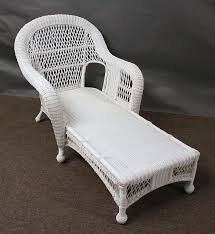 st lucia outdoor wicker chaise lounge