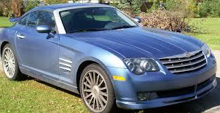 chrysler crossfire convertible blue. 2005 chrysler crossfire 20 convertible blue t