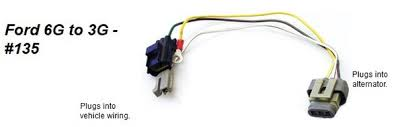 wiring harness adapter ford 6g to 3g alternator wiring harness adapter ford 6g to 3g