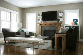 Two Story Living Room Decorating Two Story Living Room House Living Room Design