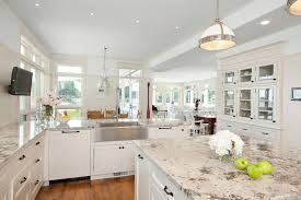 new style kitchen countertops for modern traditional kitchen designs with island