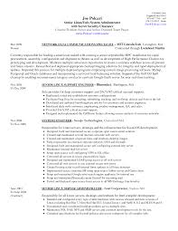 sample windows system administrator cover letter cover letter linux  administrator job description Cute Sample Resume System